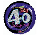 Oh No the Big 40! Mylar