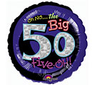 Oh No the Big 50! Mylar