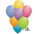6 Assorted Color Latex Balloons