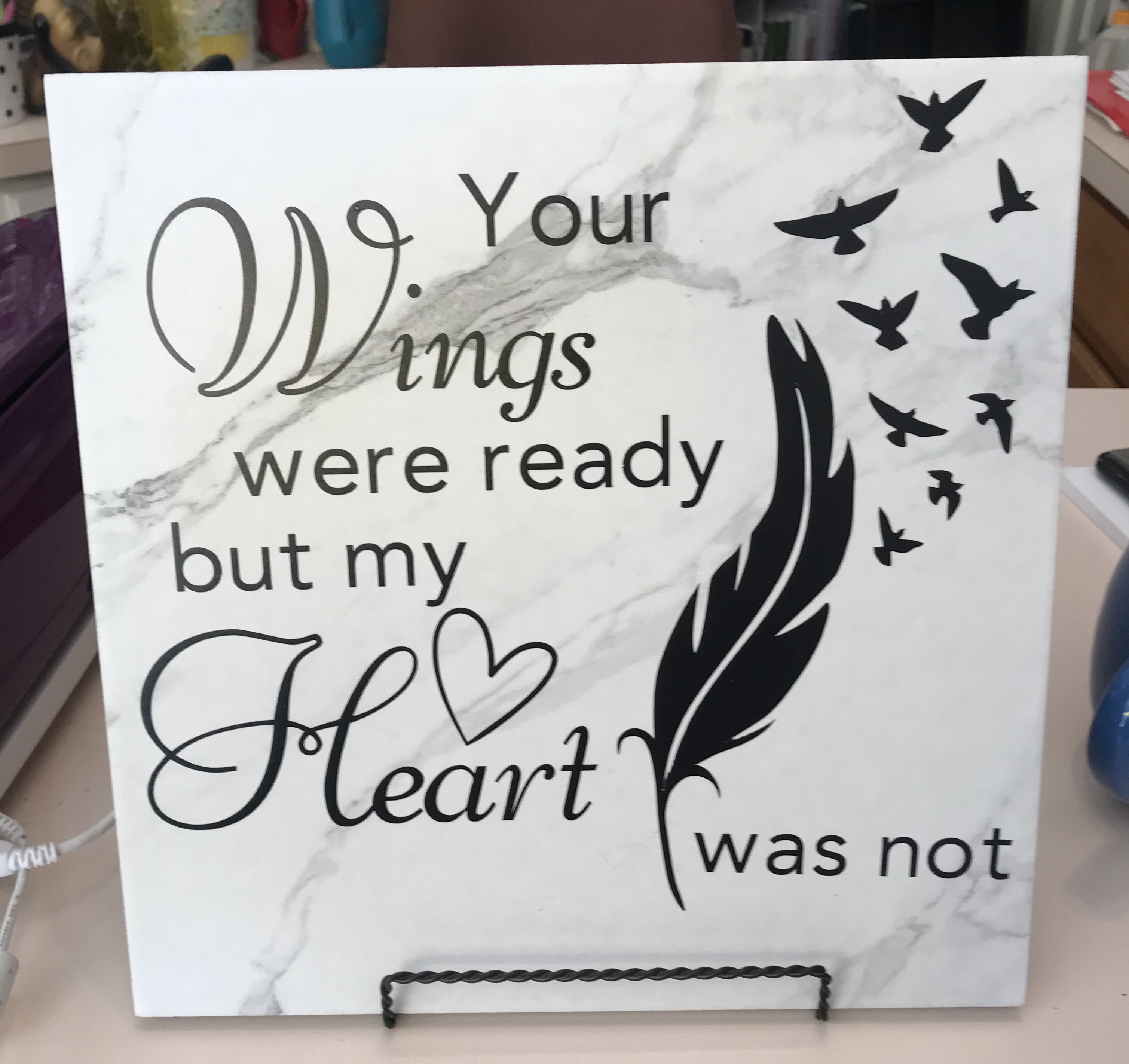 12 x 12 Wings Tile